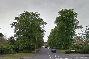 The entrance to Coniston Road in Milverton. Photo by Google Street View.