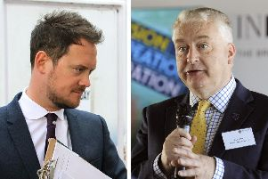 Portsmouth South MP incumbent Labour's Stephen Morgan and Liberal Democrats candidate Gerald Vernon-Jackson