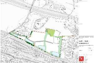 Plans for new homes near Downend Road, Portchester. Picture: Supplied