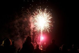The annual fireworks display was held at Stockheath Common in Leigh Park on Monday November 5.'Picture: Sarah Standing (180814-8708)