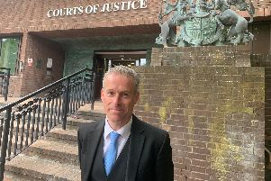 Prosecutor Simon Jones from the CPS Wessex outside Portsmouth Crown Court. Picture: Ben Fishwick