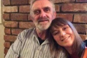 Clare pictured with her dad, Kevin.