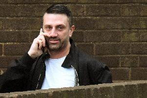 Scott Dungworth, 43, of Camcross Close, Paulsgrove, appeared at Portsmouth Crown Court accused of being a rogue trader. Picture: (190107-0857)