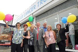 The Deputy Lord Mayor of Portsmouth, Councillor Ken Ellcome leads the celebrations in 2016 at Cosham Cancer Support Centre. Picture: Ian Hargreaves