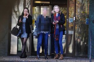 Three women were being sentenced at Portsmouth Crown Court on Thursday, November 7, for assault.''Pictured is: (left) Shannon Richardson and (right) Stevie Parr.