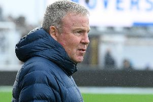 Pompey boss Kenny Jackett. Picture: Graham Hunt