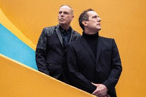 OMD at Portsmouth Guildhall on November 12, 2019. Picture by Alex Lake