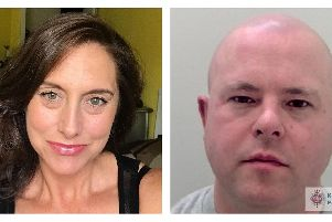 Mother-of-five Sarah Wellgreen, 46, and her former lover 39-year-old Ben Lacomba who has been jailed for 27 years for her murder 'Sarah Wellgreen picture: Family handout/PA Wire'Ben Lacomba picture: Kent police/ PA Wire
