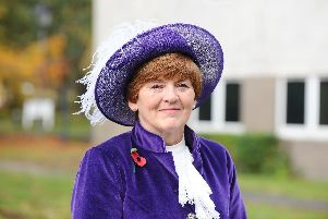 Sarah Le May, the High Sheriff of Hampshire, at Havant Justice Centre'Picture: Sarah Standing (081119-9803)
