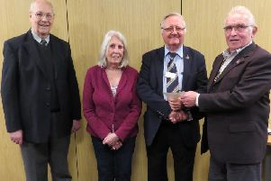 Warwick Rotarians recently heard about the work at Cape Engineering with presentation from Dr John Clegg, an orthopaedic surgeon and Coventry Rotarian. Photo submitted.