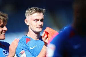 Pompey youngster Eoin Teggart. Picture: Joe Pepler