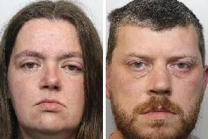 Sarah Barrass, 35, (left) and Brandon Machin (39) have been jailed for life. Picture: South Yorkshire Police/PA Wire