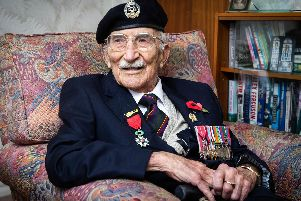 Portsmouth D-Day veteran John Jenkins turns 100 years old today 'Picture: Habibur Rahman
