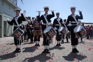 The school has very strong ties to the Royal Navy and Royal Marines.