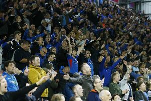 Where do Portsmouth rank in the League One attendance charts?