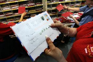 You can send letters to Santa this Christmas. (Photo by Matt Cardy/Getty Images)