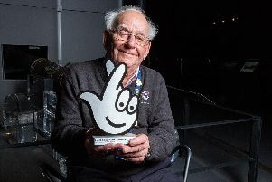 Maurice Young, a volunteer at the Mary Rose Museum, has been given a Local Legend Award as part of the National Lottery's awards for its 25th birthday. Picture: National Lottery