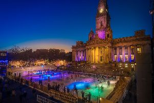The Ice Skating Rink at Portsmouth Guildhall. Picture: Andy Hornby