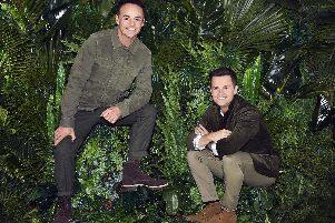 Ant McPartlin and Declan Donnelly presenting I'm A Celebrity ... Get Me Out Of Here!