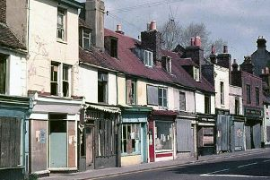 Once prosperous Lake Road was all but finished by the late 1960s when this road of shops was demolished. Picture:: Mick Cooper collection