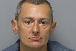 Shamed ex-Stokes Bay Golf Course employee Carl Howells, 41, of Pavilion Way, Gosport, has been jailed for breaking into the home of a disabled pensioner. Photo: Hampshire police