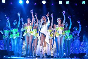 The Ladyboys of Bangkok were at the New Theatre Royal, Portsmouth