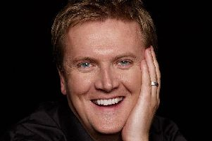 Aled Jones is performing at Portsmouth Cathedral next year