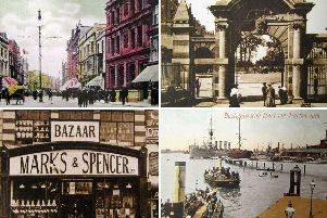 Postcards from a bygone era