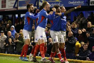 There's been plenty of good days at Fratton Park this year. Photo by Robin Jones/Getty Images