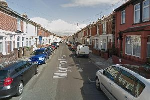 Residents of Monmouth Road in North End have won on the People's Postcode Lottery. Picture: Google Maps