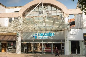Cascades Shopping Centre in Portsmouth