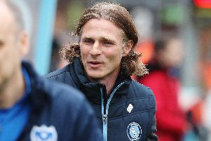 Wycombe Wanderers manager Gareth Ainsworth. Picture: Joe Pepler