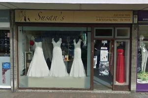 Susan's of Gosport in Stoke Road had an unusual prom dress stolen. Picture: Google Maps