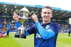 Former News/Sports Mail Pompey player of the year Jed Wallace