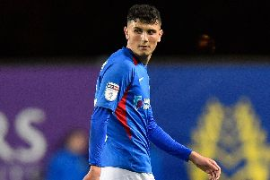 Pompey youngster Leon Maloney