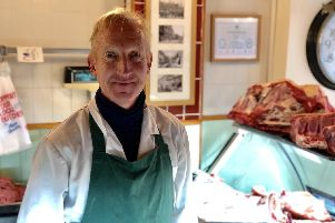 Chris Hitchen, who owns CJ Meats in havant town centre. From the election on December 12 he said what the people want mos is 'certainty' - after tremors caused by Brexit and the following three years in which it hasn't been delivered. Picture: Byron Melton
