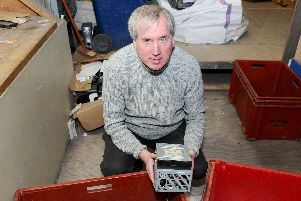 Garry Byrne pictured when he previously appeared in The News. Picture: Sarah Standing (160419-5979)