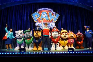 Everyone's favourite pups return to the stage with a high-energy musical extravaganza. (Picture: P&J Live Marketing)