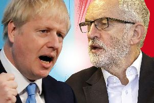 RIVALS: Johnson v Corbyn