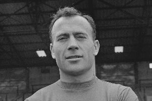 Ron Saunders, pictured in Pompey colours in 1963, has passed away at the age of 87. Picture: Lemmon/Daily Express/Hulton Archive/Getty Images