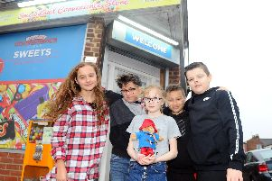 A local shop's decision not to sell sugary products to children before school has provoked debate on Facebook as to where responsibility lies.''Picture: Sarah Standing