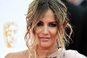 Caroline Flack. Picture: Ian West/PA Wire