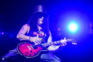 Guns N' Roses have announced a huge show in London. Picture: EDUARDO VALENTE/AFP via Getty Images