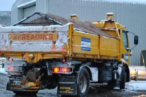 All precautionary routes across Northants are due to be gritted overnight