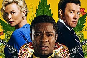 Charlize Theron, David Oyelowo and Joel Edgerton in Gringo
