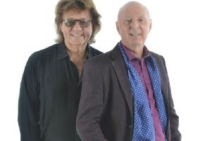 Bev Bevan and Jasper Carrott