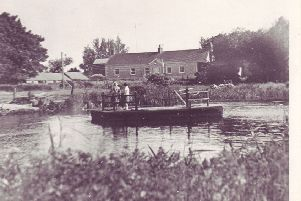 The old Bannfoot ferry. LM1310-506con