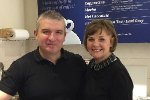 Keith and Ann Cottam have been told they have to shut their cafe after 18 years. Photo supplied.