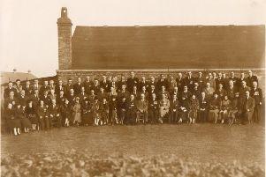 The 5th Warwickshire Howitzer Battery old comrades reunion on November 14, 1937
