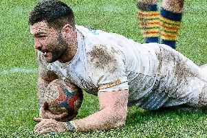 Alex Tansley scored Lions' fourth try